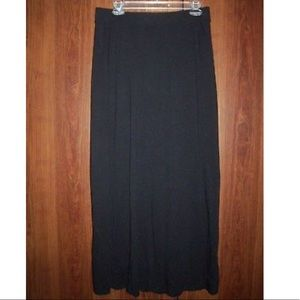 Sonoma, Women's Long Black Maxi-Skirt, Size Small